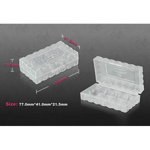 Пластиковая коробка для хранения аккумуляторов