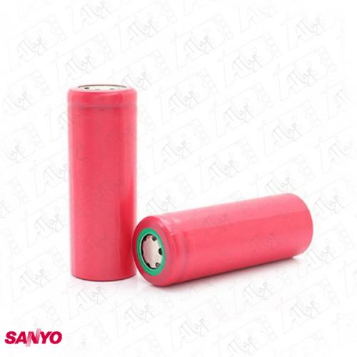 Sanyo 18500 UR18500F 1700mAh плоский плюс
