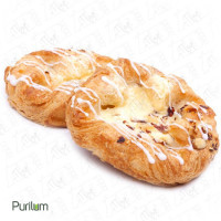 Cream Cheese Danish with Toasted Almonds