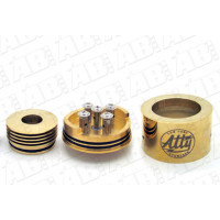 Атомайзер Tobh Atty V2 Gold brass (клон)