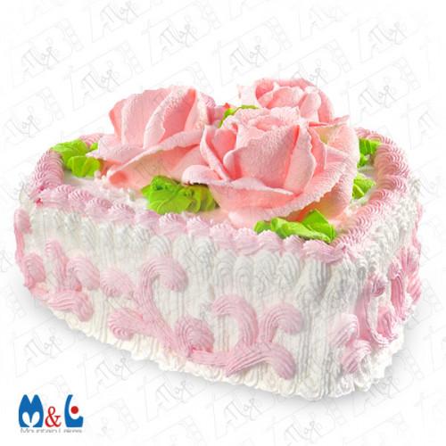 Butter cream dessert